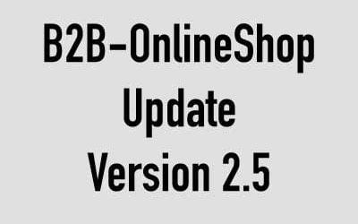 Update Kundenshop